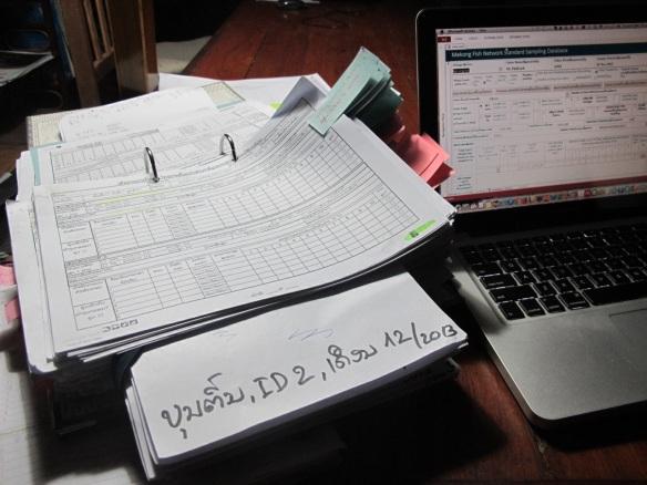Pile o' data for checking